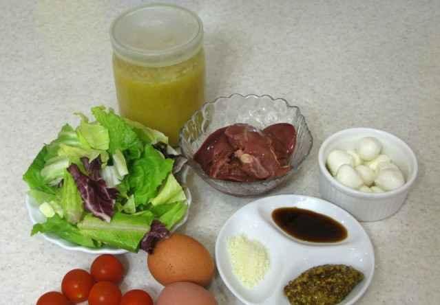 salat s kyrinoy pechenju1