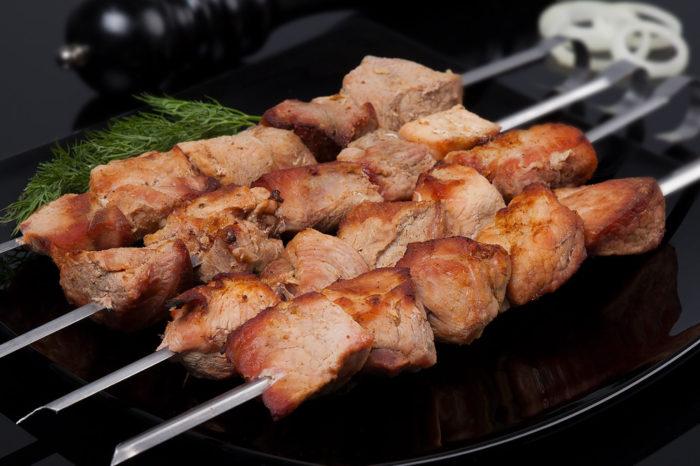 Маринад для шашлыка из свинины на кефире с маслом
