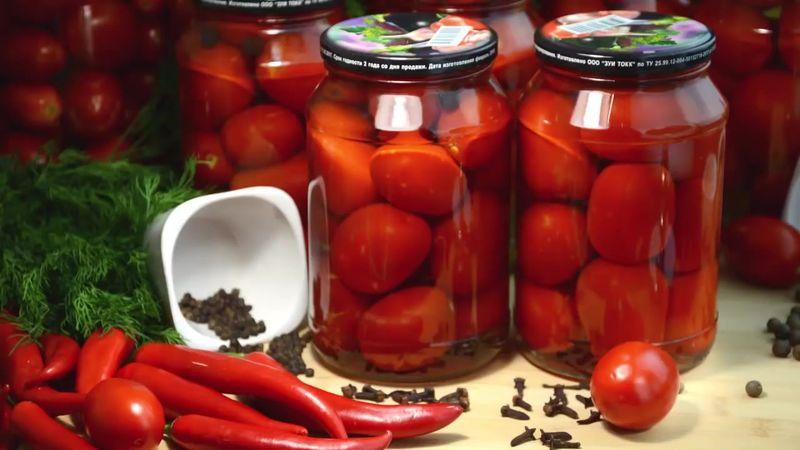 Маринованные помидоры с гвоздикой