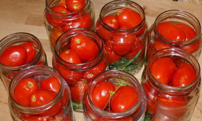 Нежные помидоры «по-домашнему» на зиму