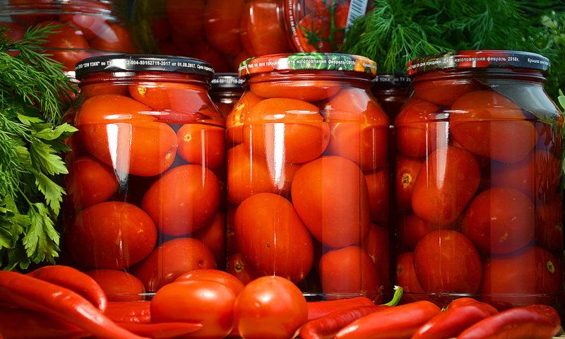 Острые помидоры заготовки на зиму
