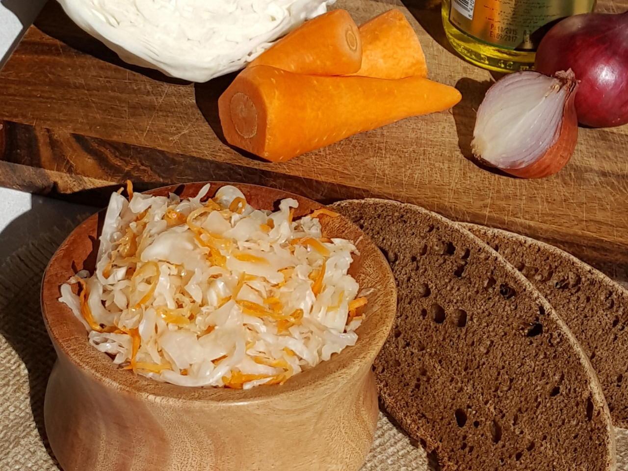 Вариант с ржаным хлебом